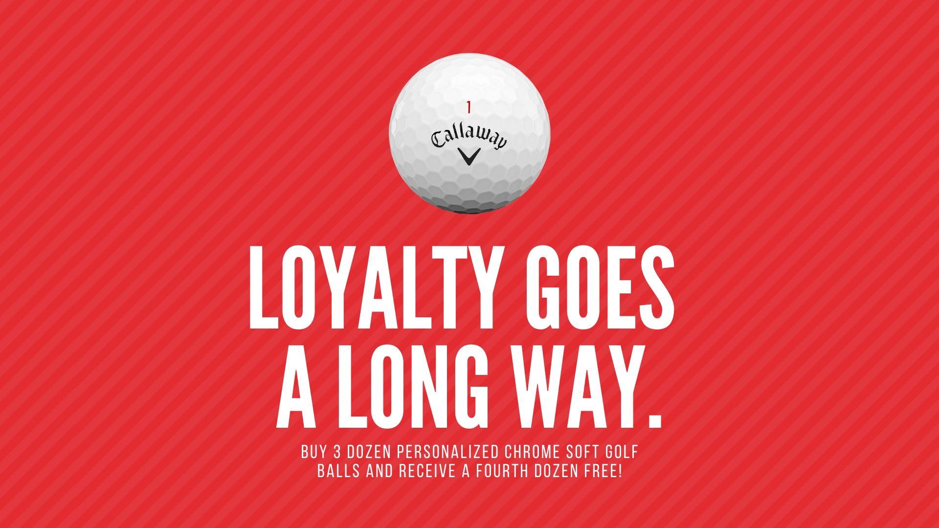 Buy 3 Dozen Callaway Chrome Soft Golf Balls, Get 1 Free!