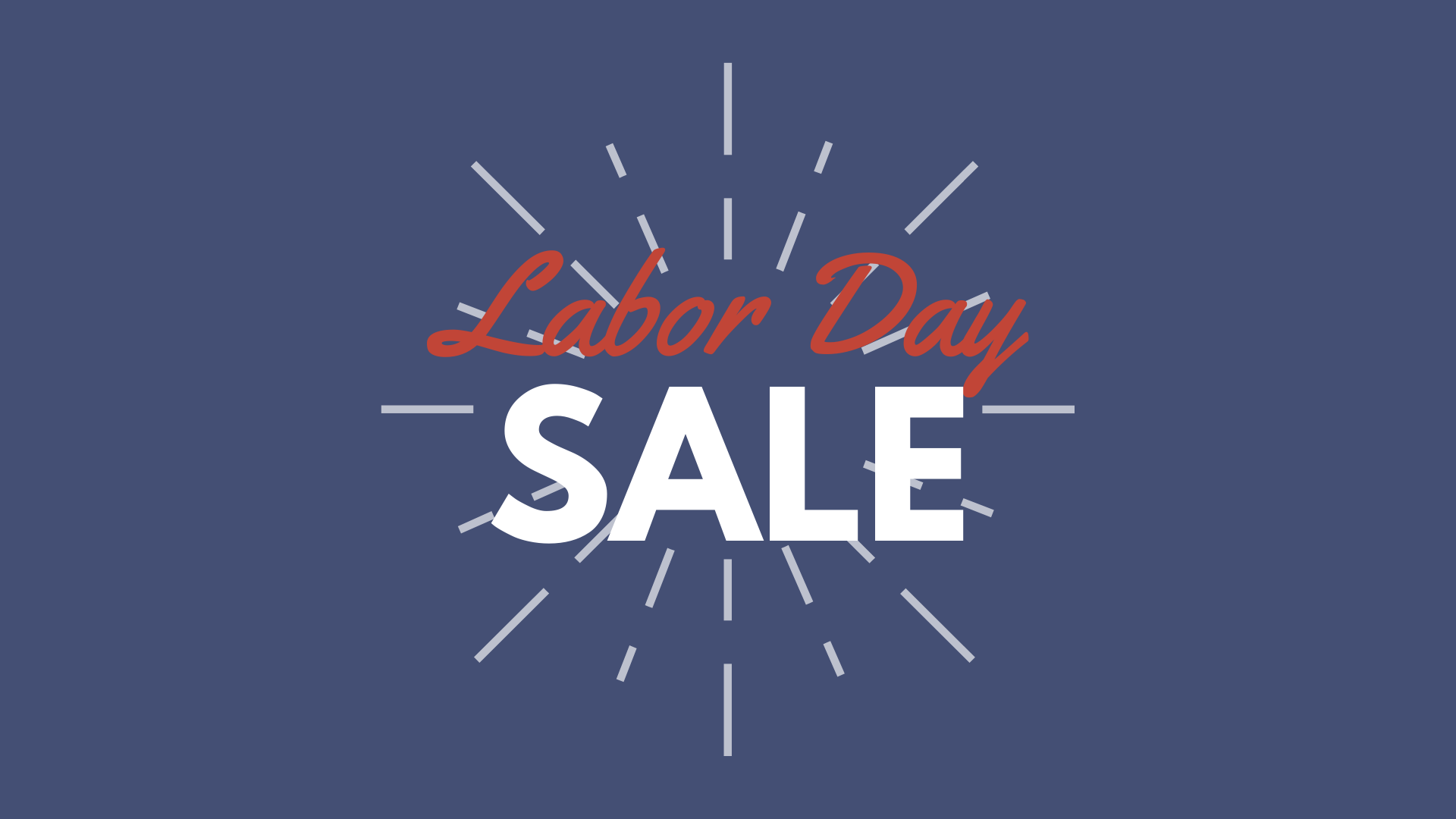 Springbrook Labor Day Pro Shop Sale