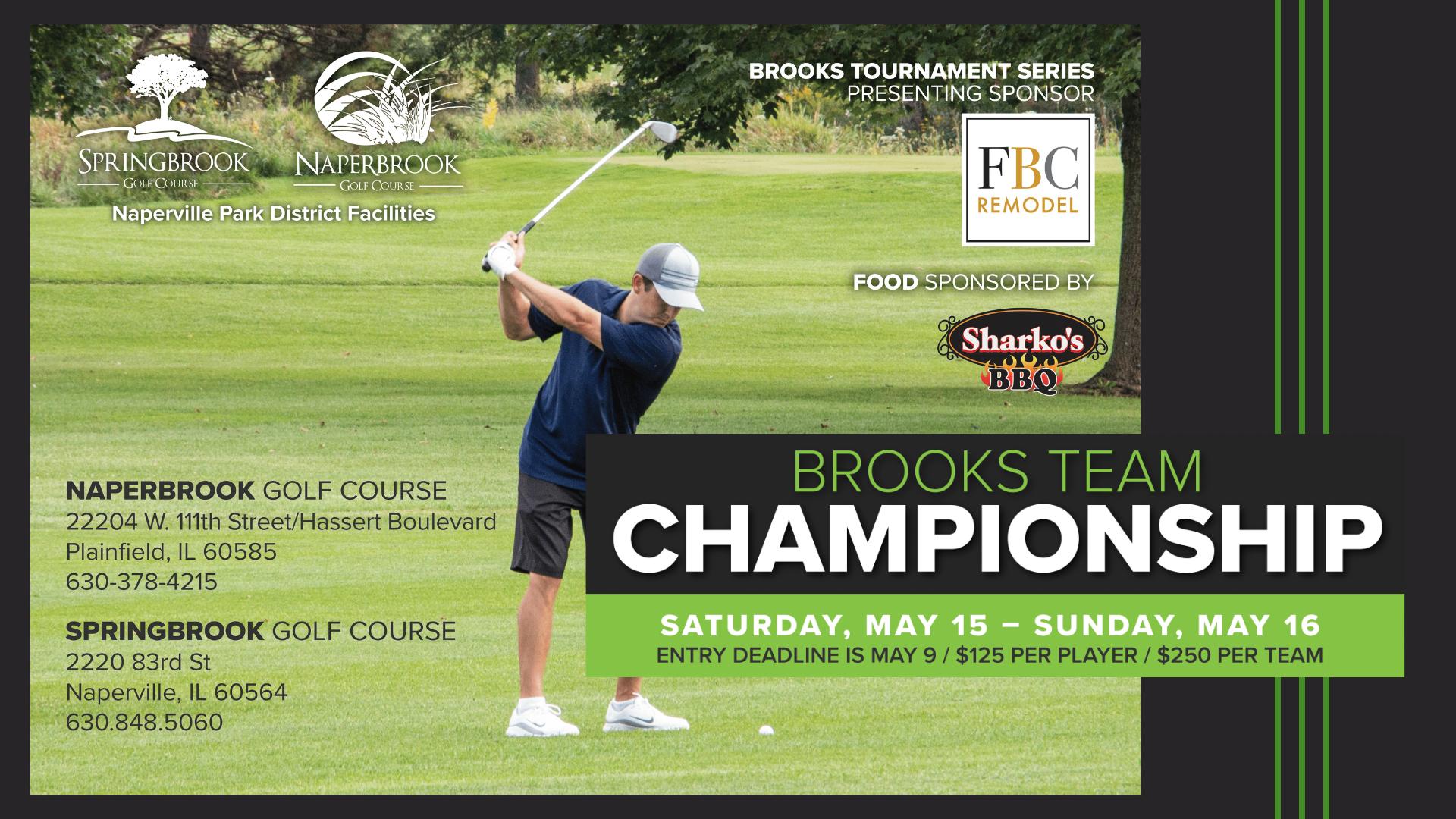 Brooks Team Championship at Springbrook & Naperbook